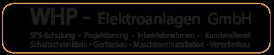 WHP Elektroanlagen GmbH